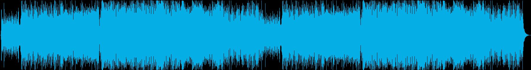 さわやかなケルト曲の再生済みの波形