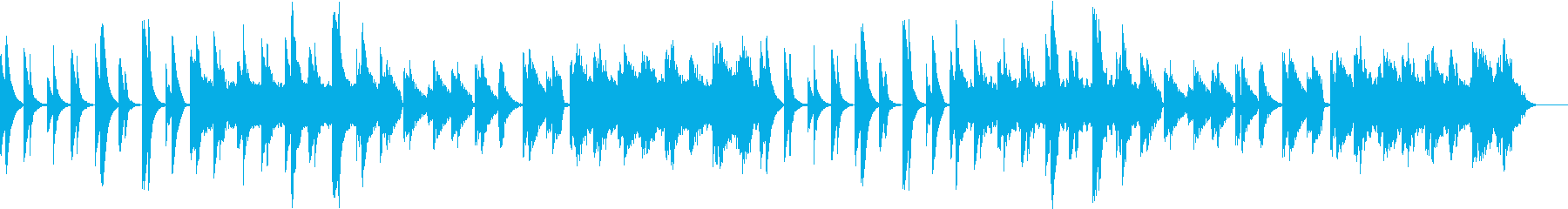 可愛らしいサウンドが赤ちゃんの眠りを誘うの再生済みの波形