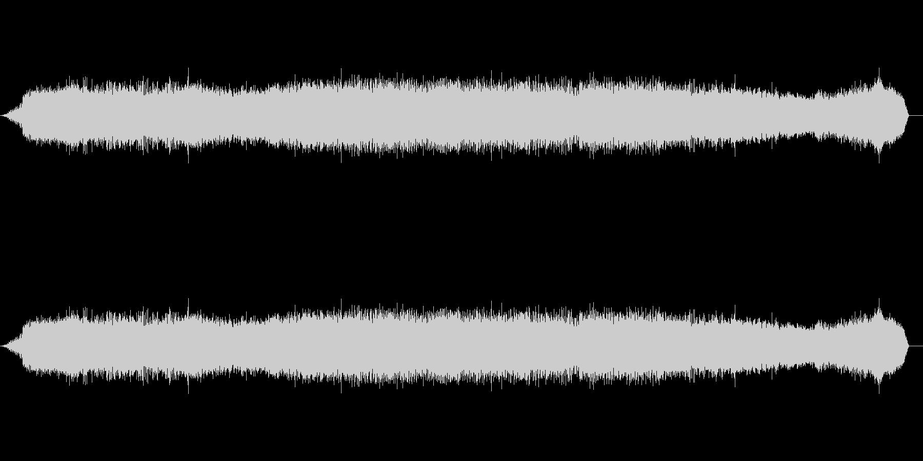プロヴァンスのセミの未再生の波形