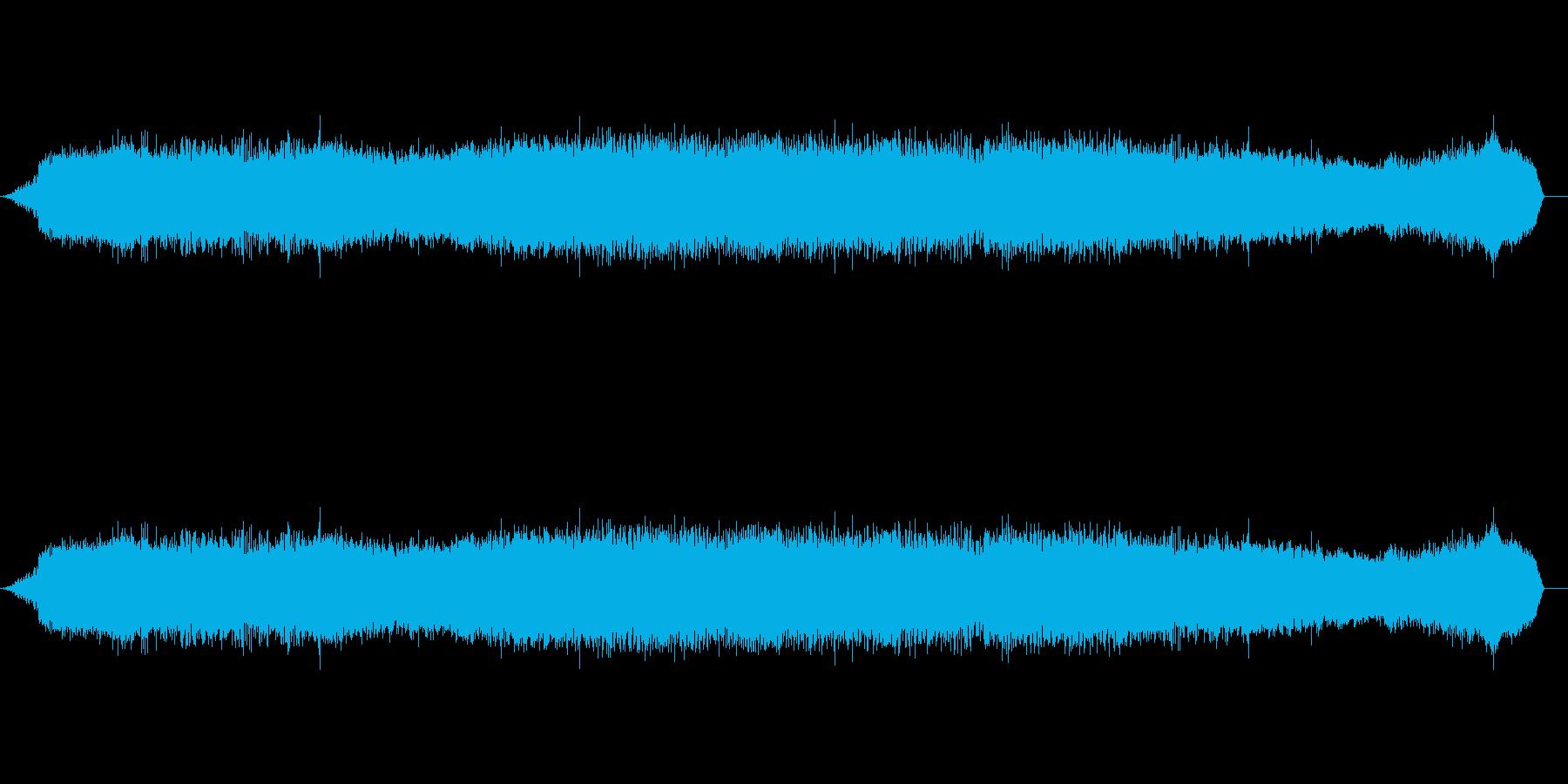 プロヴァンスのセミの再生済みの波形