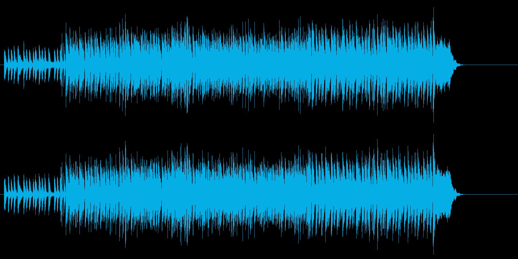 ヒップホップ系エレクトリック・ポップスの再生済みの波形