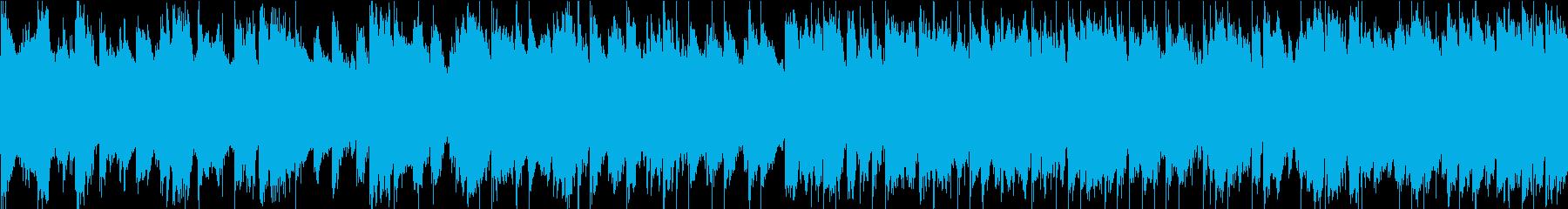 民族的な雰囲気のミステリアスなBGMの再生済みの波形