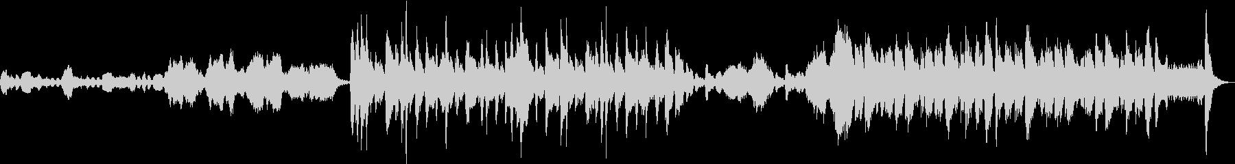 コミカルなハロウィン曲の未再生の波形