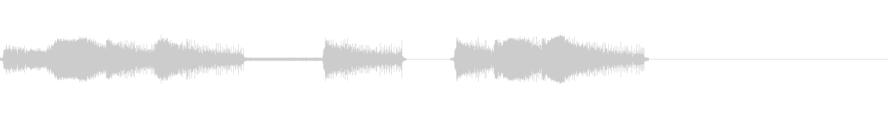 レーザー、アーケード7の未再生の波形