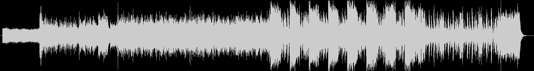 EDM系の緊迫した空気の曲の未再生の波形