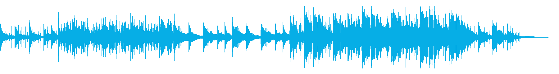 ストリングスがオシャレなLo-Fiビートの再生済みの波形