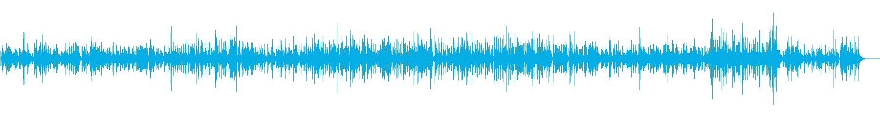 JAZZ|カフェ・喫茶店の音楽|ピアノの再生済みの波形