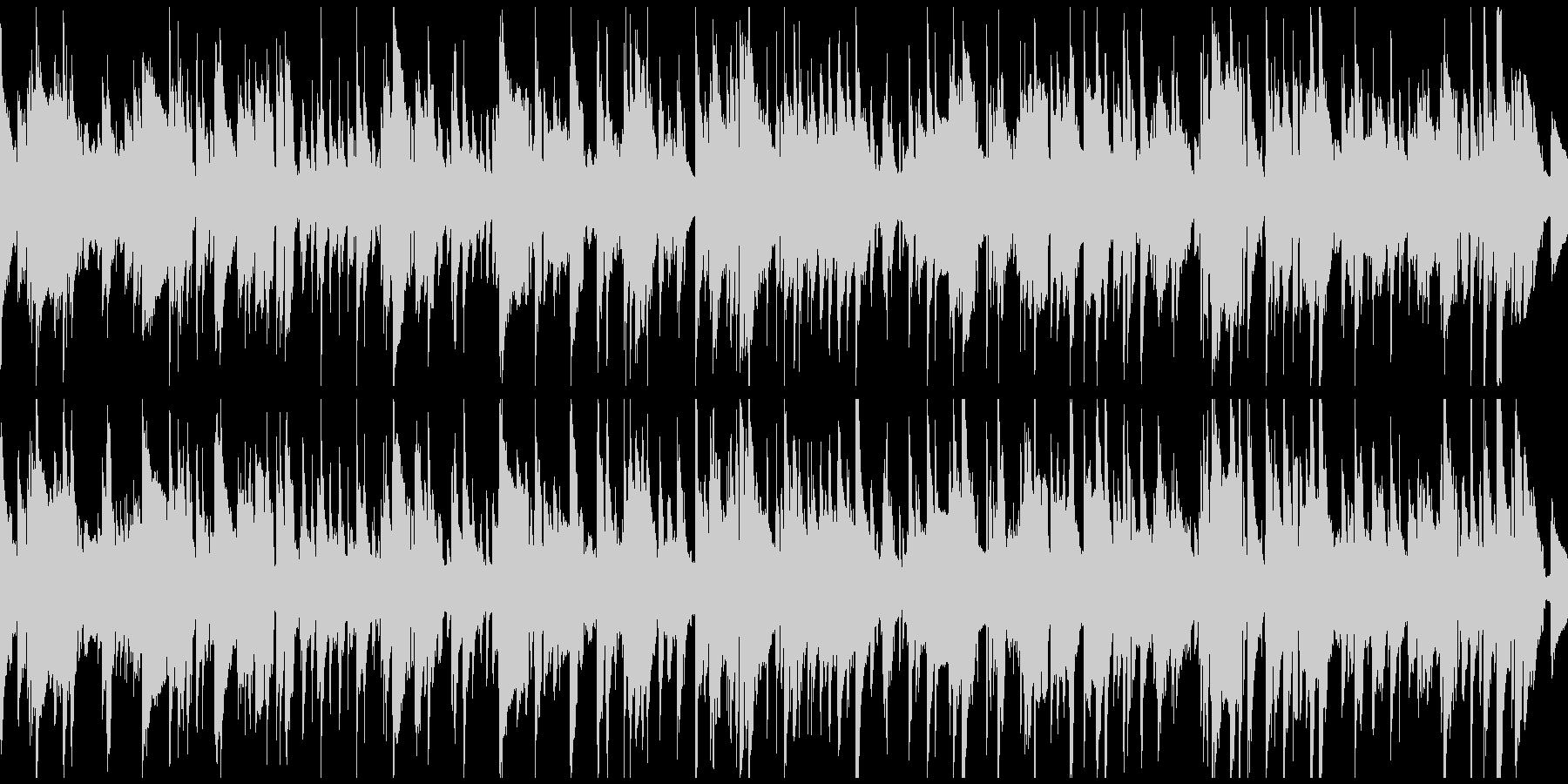 ノスタルジックなジャズバラード※ループ版の未再生の波形