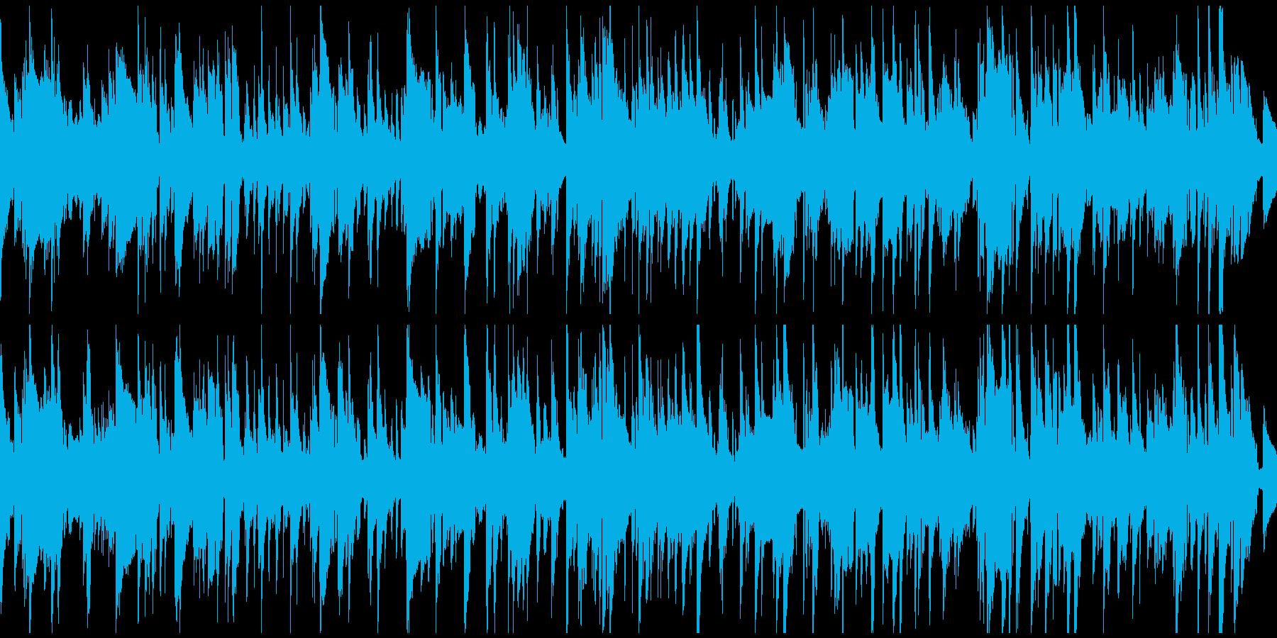 ノスタルジックなジャズバラード※ループ版の再生済みの波形