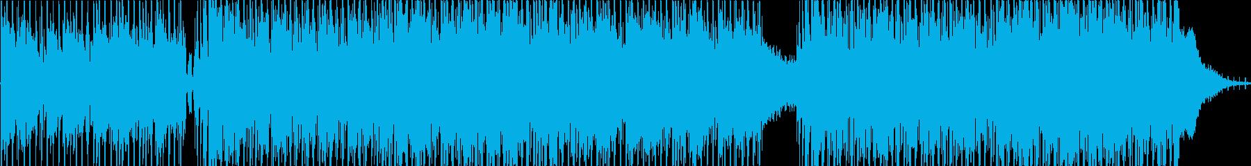ポップ テクノ R&B ゆっくり ...の再生済みの波形