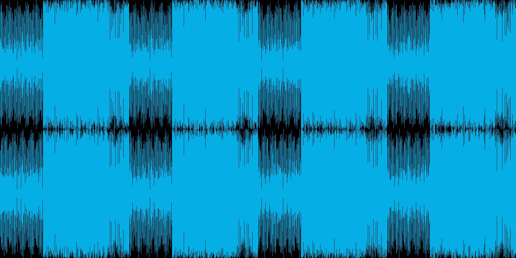 あやしい潜入映像のBGMの再生済みの波形