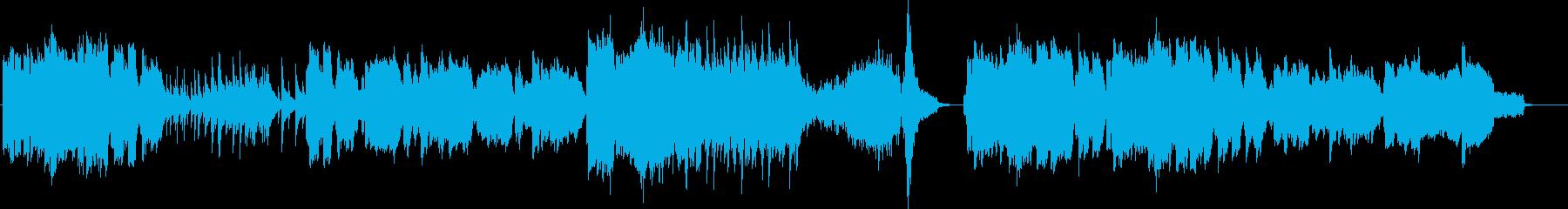 ドラマの感動的なシーンで流れるピアノ曲…の再生済みの波形