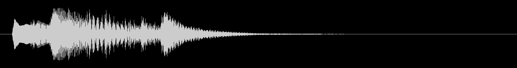 【効果音】メニュー系セットB_大決定音の未再生の波形