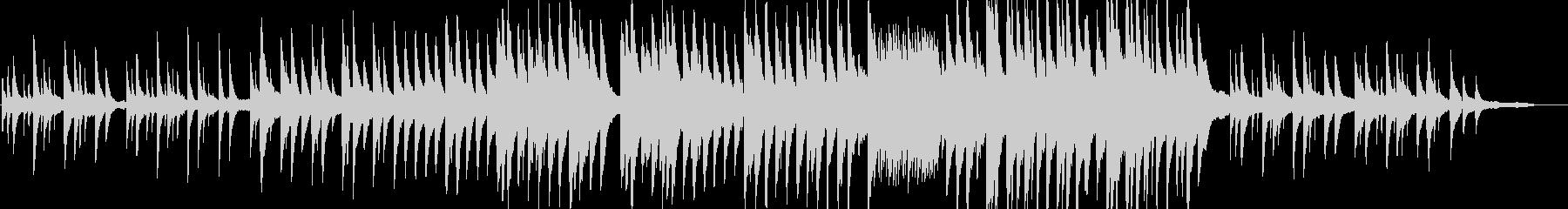 木星の有名なメロディ部分のピアノver.の未再生の波形