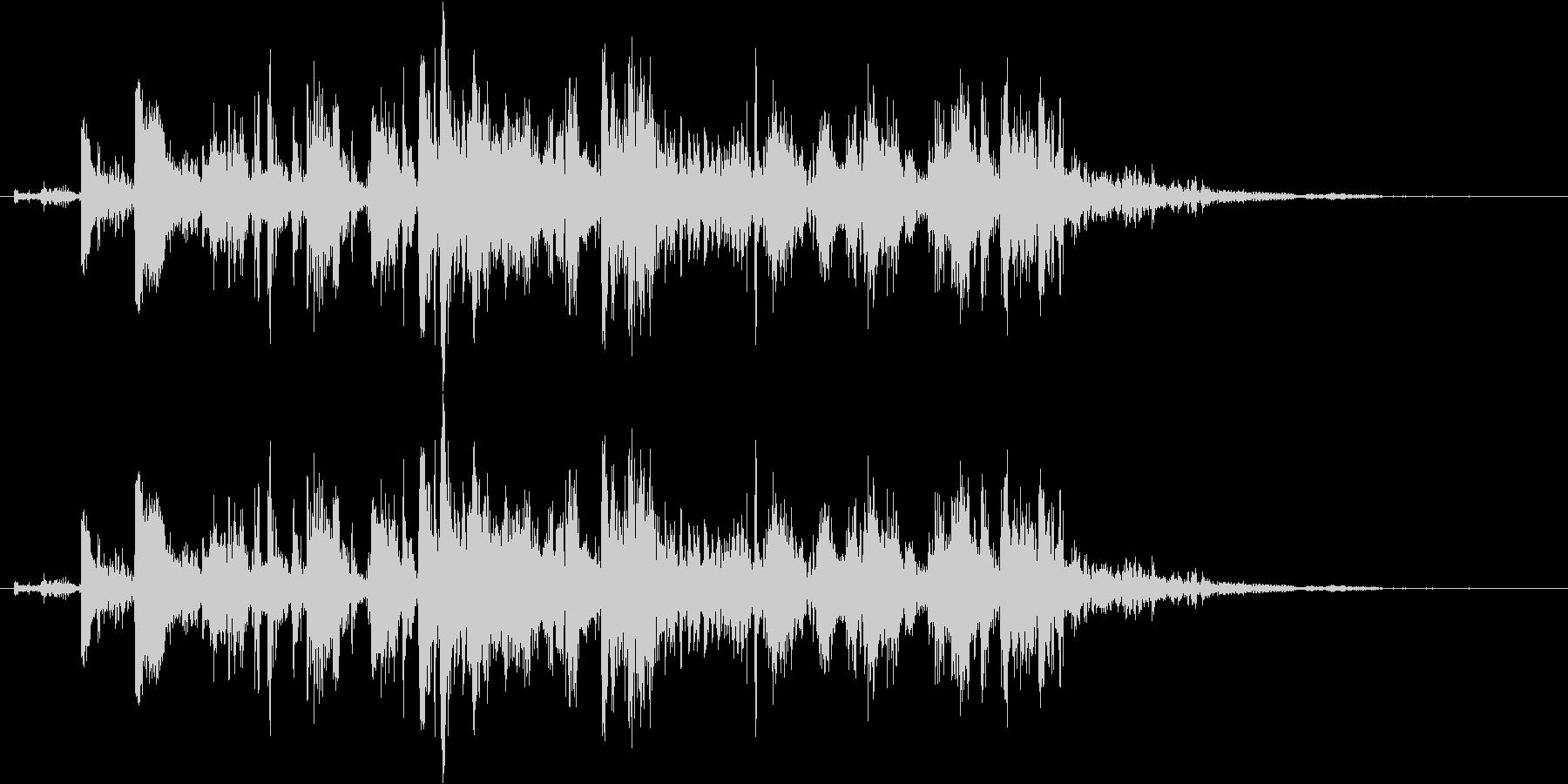 鎖を動かす音7【短い】の未再生の波形