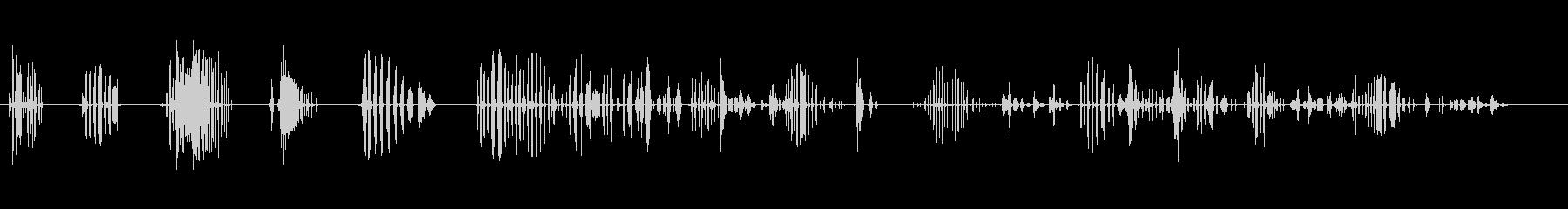 リサバリオ_女性の未再生の波形