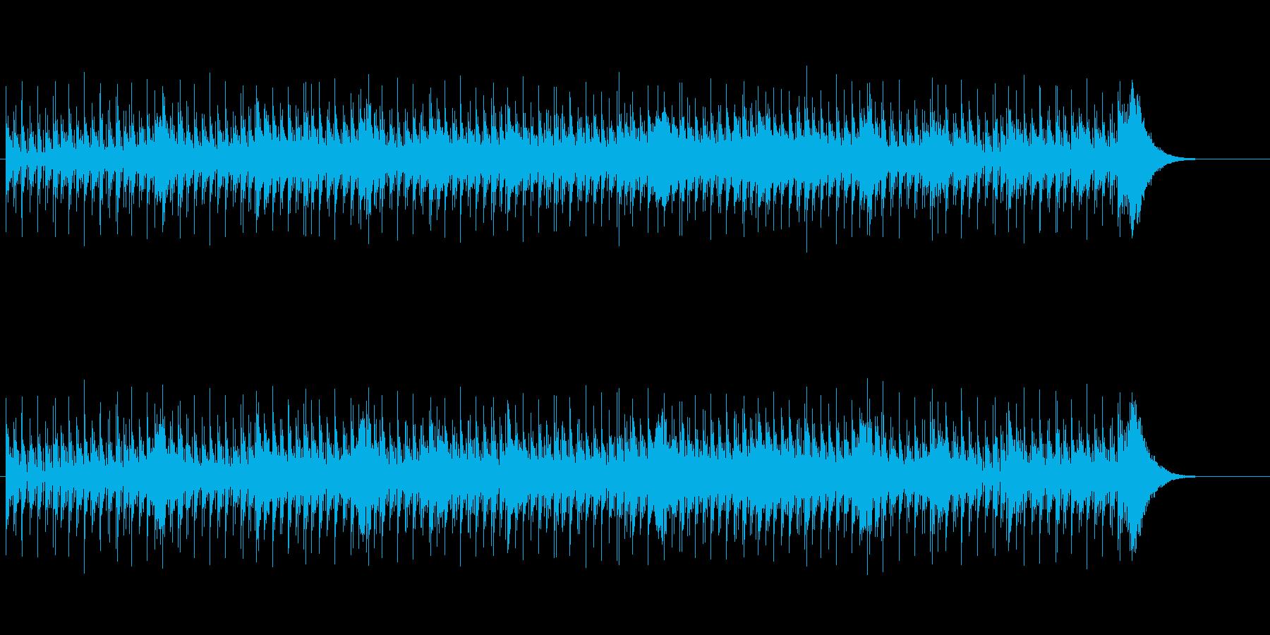 単調で怪しげな神秘的マイナードキュメントの再生済みの波形
