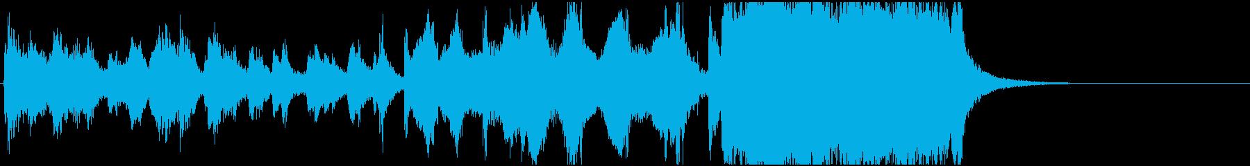 ジングル_ファンファーレ028 金管長めの再生済みの波形