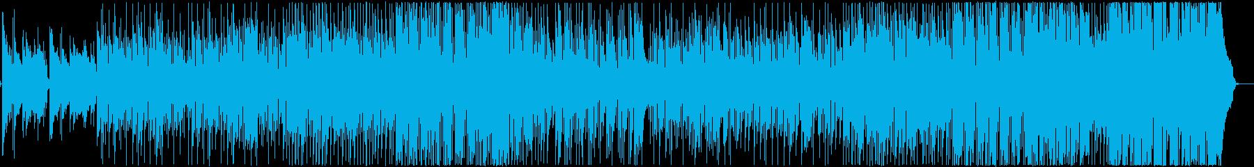ほのぼのとしたフォークポップの再生済みの波形