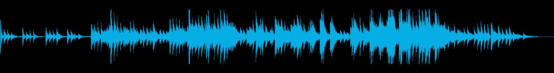 透明感のある ノスタルジックなピアノソロの再生済みの波形