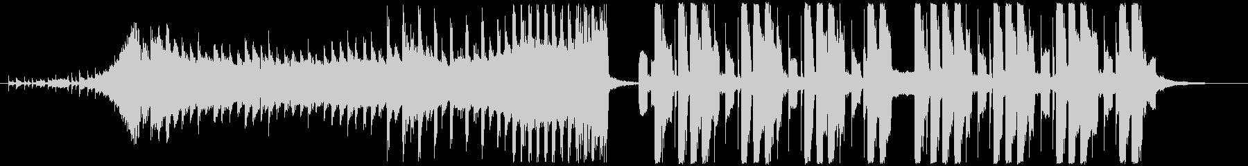 CMやイメージビデオに合うスタイリッシュの未再生の波形