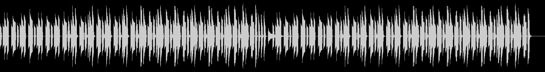 ピタゴラスイッチっぽいののんきなBGMの未再生の波形