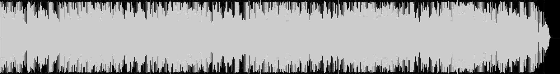 可憐でキャッチ―なアップテンポポップスの未再生の波形
