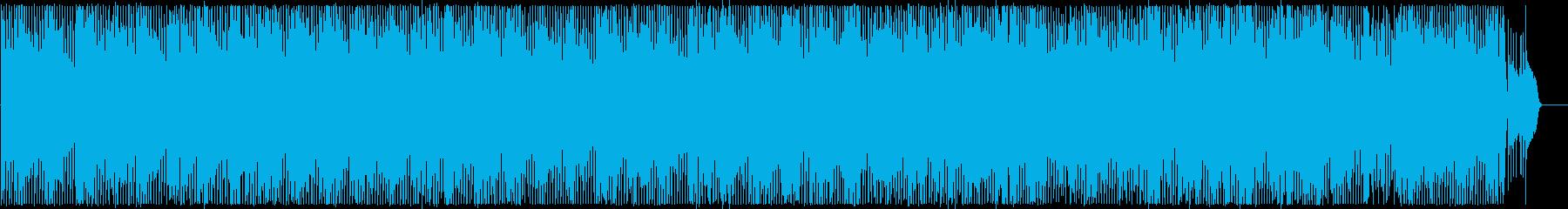 可憐でキャッチ―なアップテンポポップスの再生済みの波形