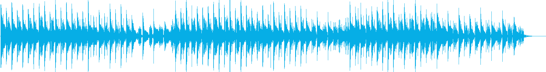 次々とキラキラシンセが流れていく曲。の再生済みの波形