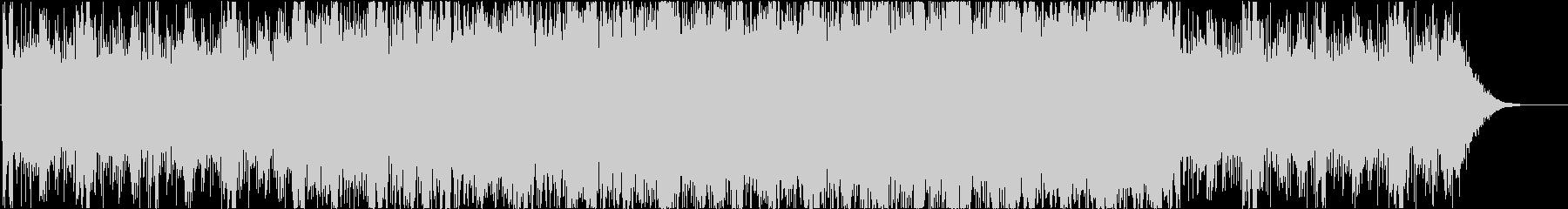 ダークでシリアス感のあるピアノ主体の劇伴の未再生の波形