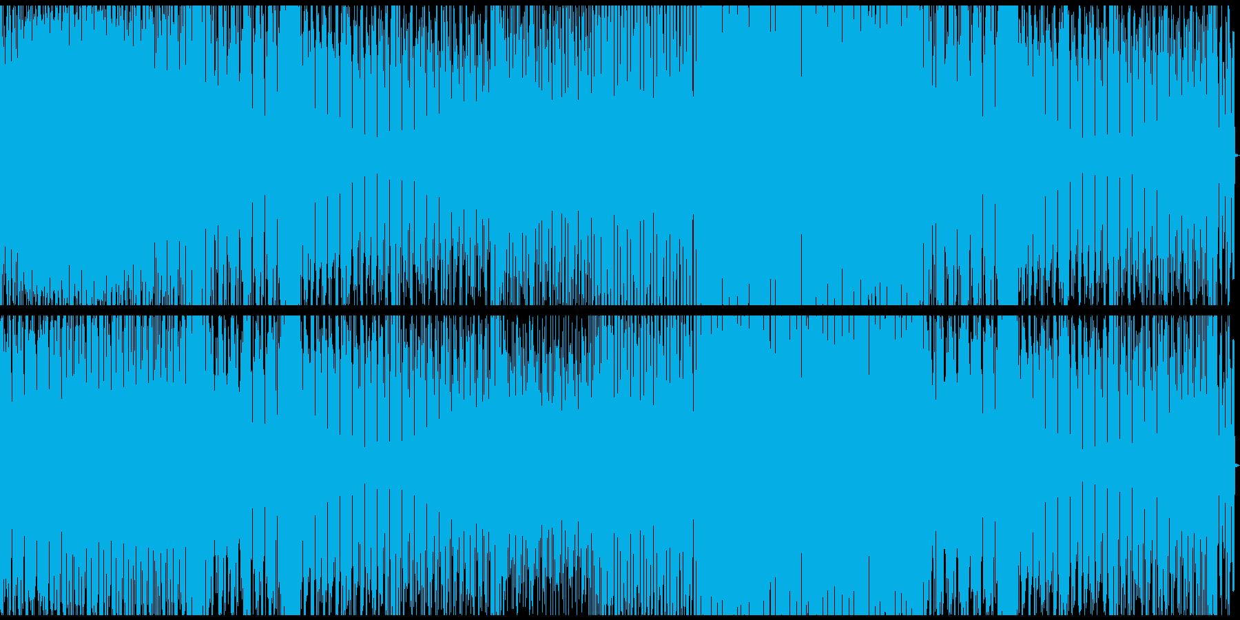 夜の生き物の再生済みの波形