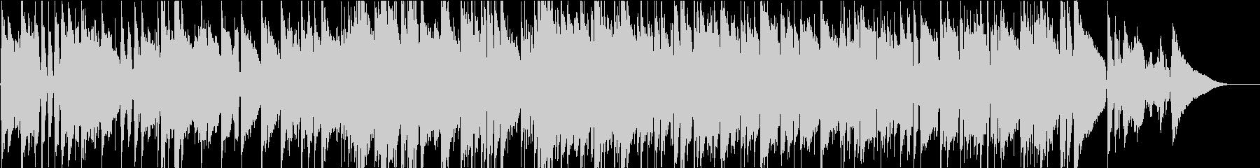 山田耕筰作曲の少しジャジーな赤とんぼの未再生の波形