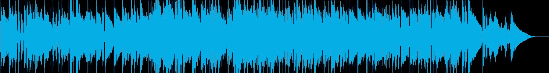 山田耕筰作曲の少しジャジーな赤とんぼの再生済みの波形