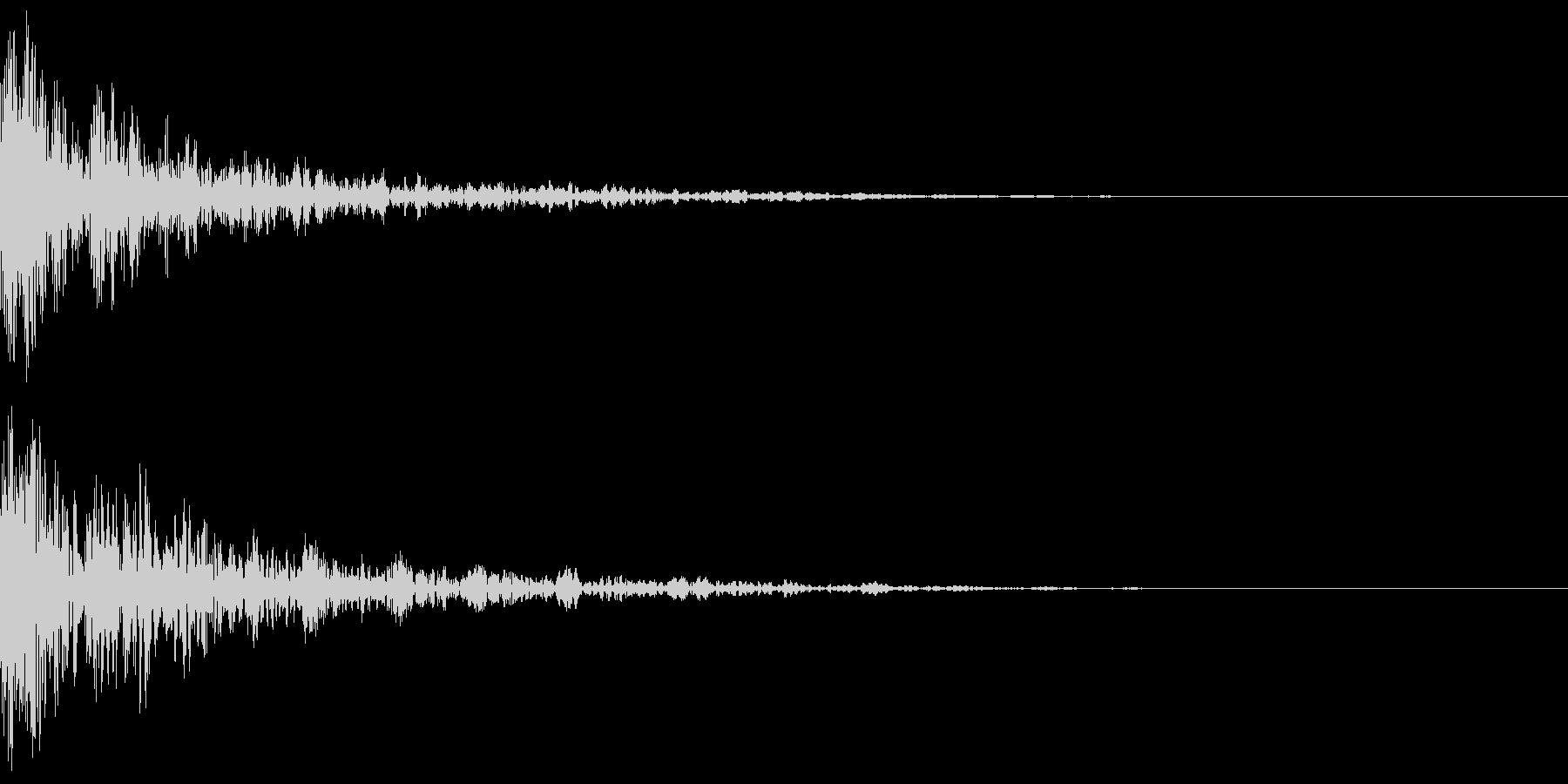 ドーン-53-2(インパクト音)の未再生の波形