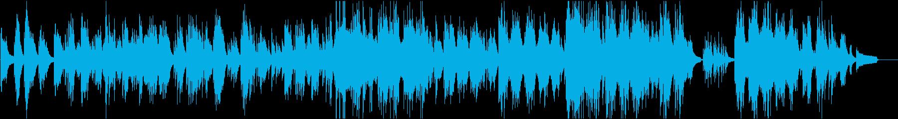 余韻のあるゆったりとしたピアノソロの再生済みの波形