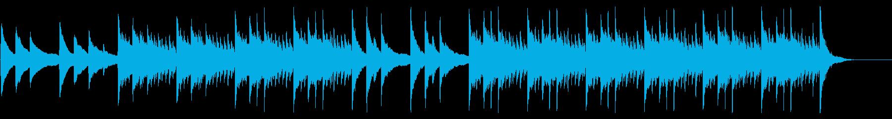 【ピアノのみ】シリアスなシネマティックの再生済みの波形