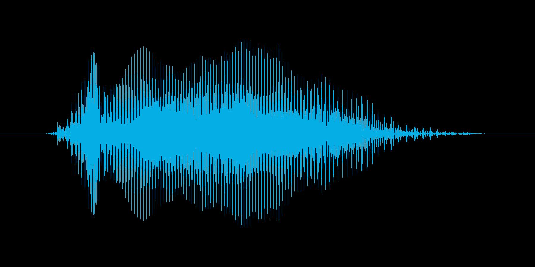 ゴー!の再生済みの波形