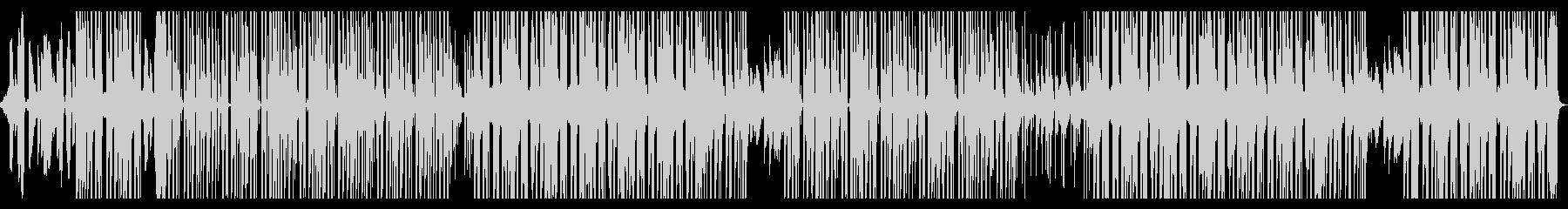 おしゃれなピアノのR&B系ポップスの未再生の波形