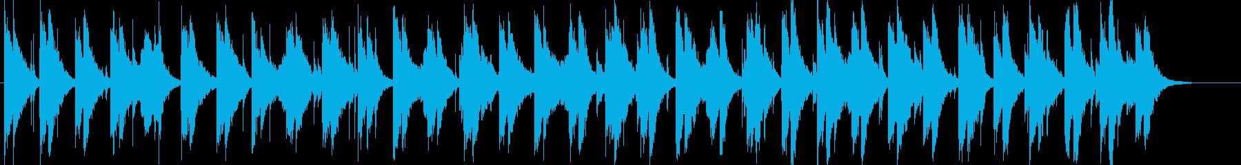 ピアノ音と浮遊感と切なさの再生済みの波形