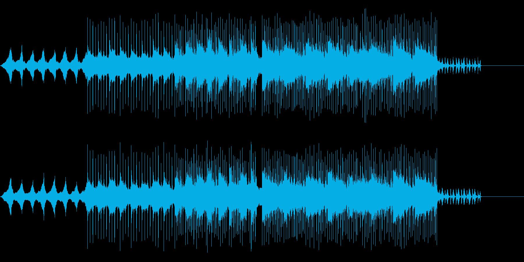 日常がテーマのポップスの再生済みの波形