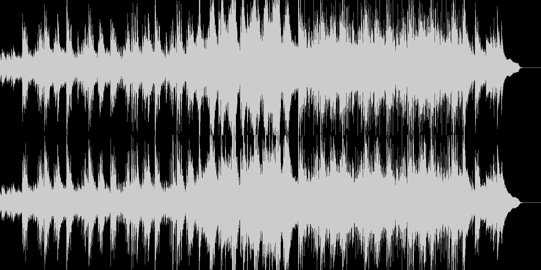 アコギ&ピアノの爽やかなアニメBGM風の未再生の波形