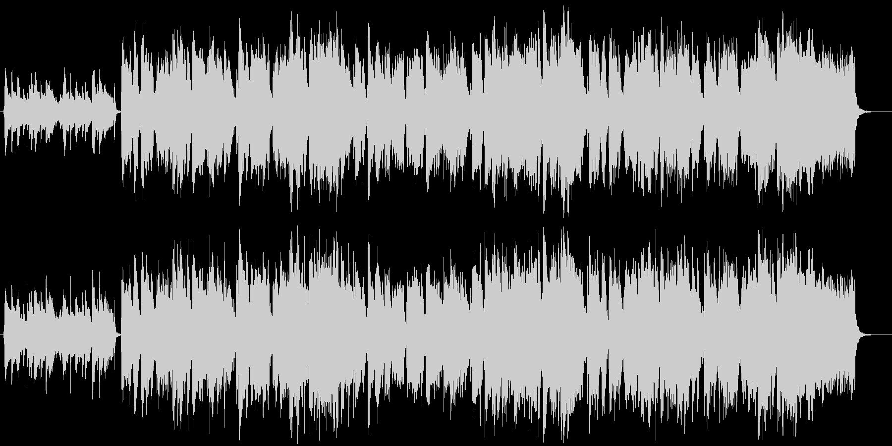 田舎町・ほのぼのとしたケルト・民族音楽の未再生の波形