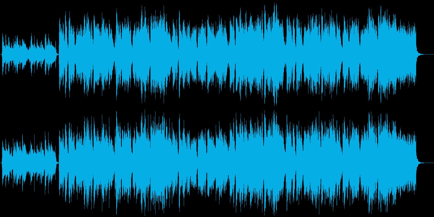 田舎町・ほのぼのとしたケルト・民族音楽の再生済みの波形