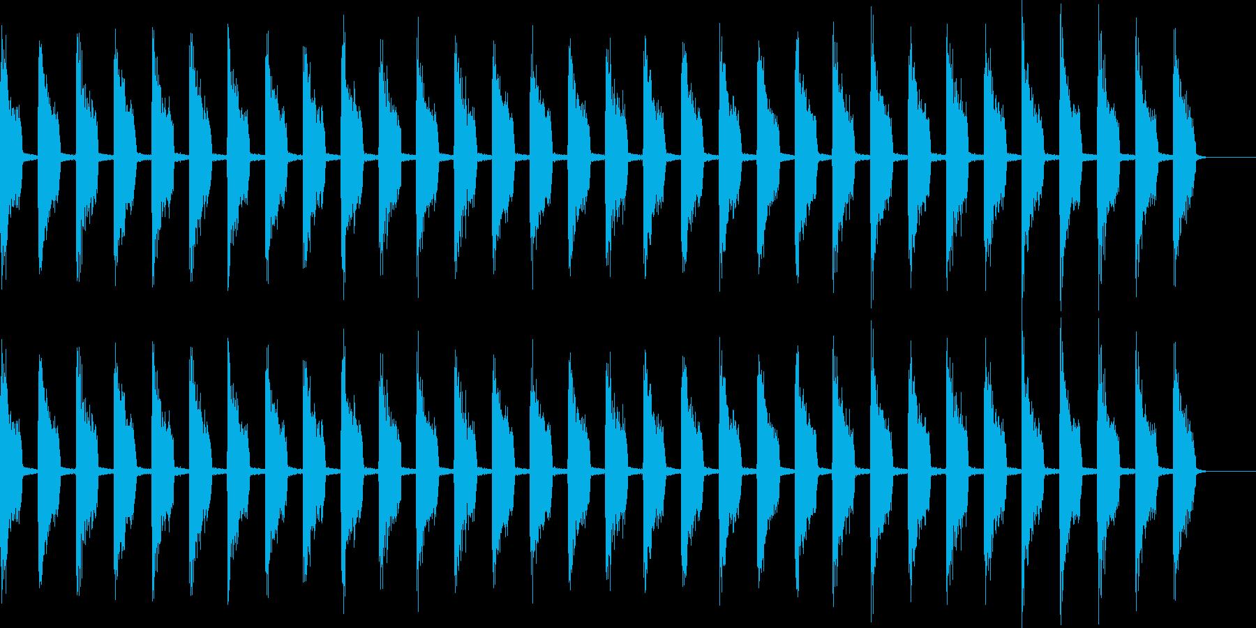 ティッティッティッの再生済みの波形