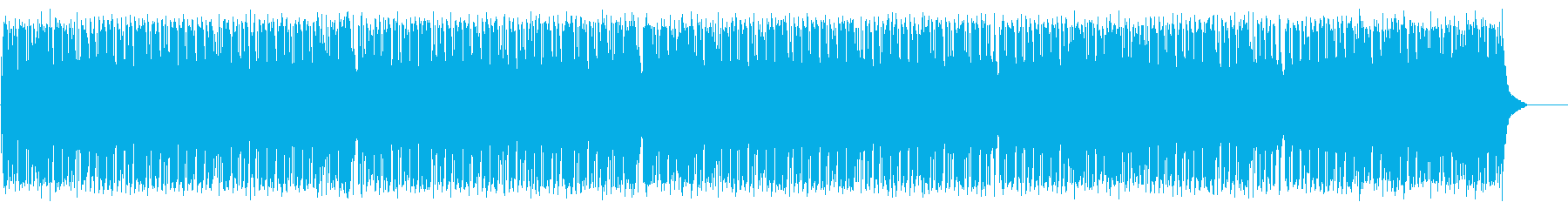 テンポの良いポップ(フルサイズ)の再生済みの波形