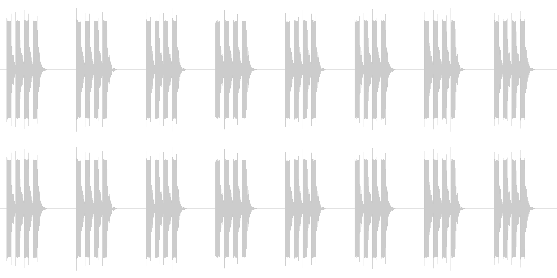 時計 アラーム03-02(強 ループ)の未再生の波形