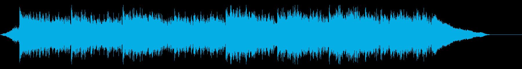 企業VP映像、164オーケストラ、爽快Sの再生済みの波形