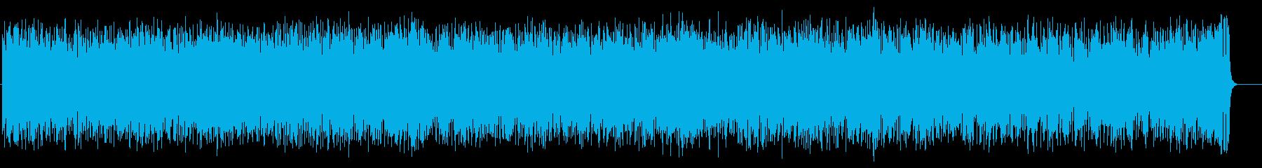 軽快なテーマポップス(フルサイズ)の再生済みの波形