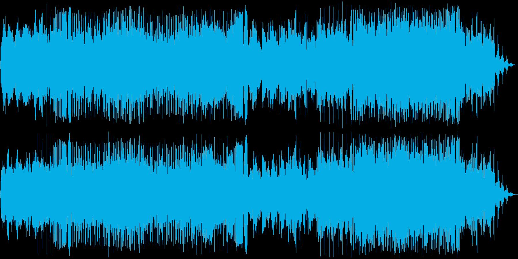 物悲しいけど力強いEDMの再生済みの波形