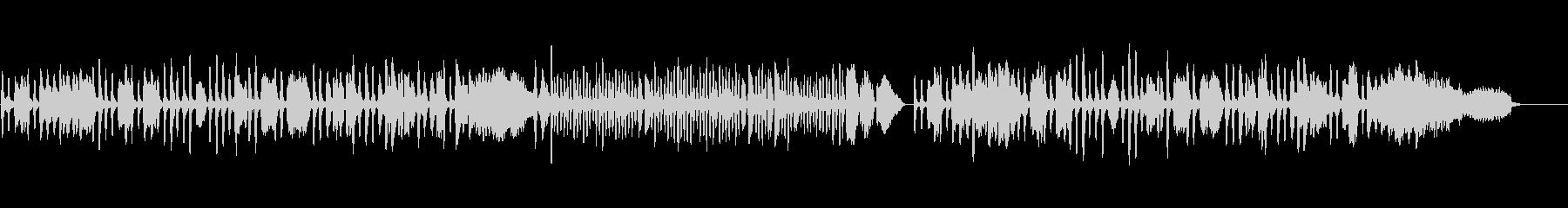 リュリ/ガヴォットをヴァイオリンソロでの未再生の波形